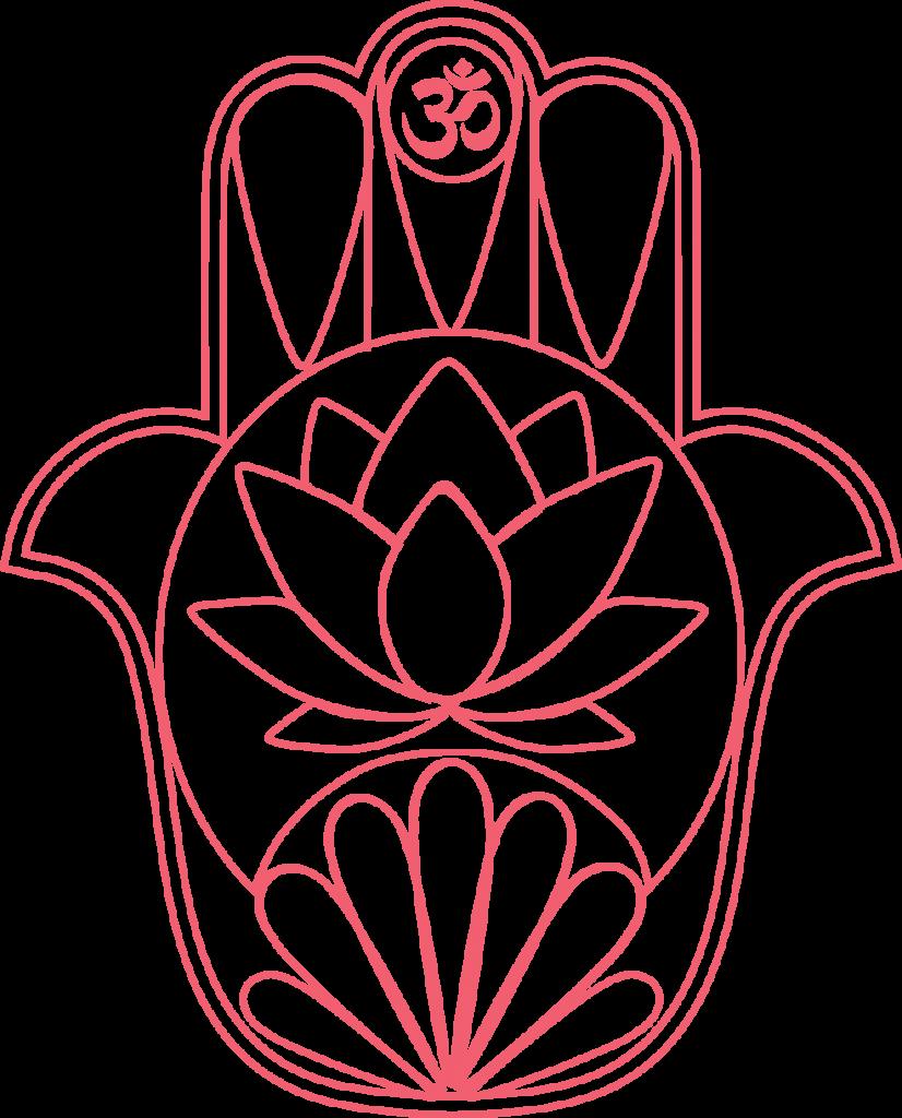 macha yoga hand